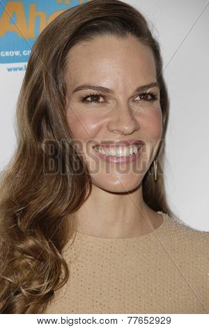 LOS ANGELES - DEC 4:  Hilary Swank at the The Actors Fund�¢??s Looking Ahead Awards at the Taglyan Complex on December 4, 2014 in Los Angeles, CA