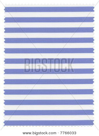 Striped Fabric swatch