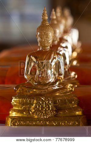 Glass Buddha Statue