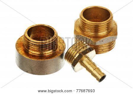 Three Brass Fittings