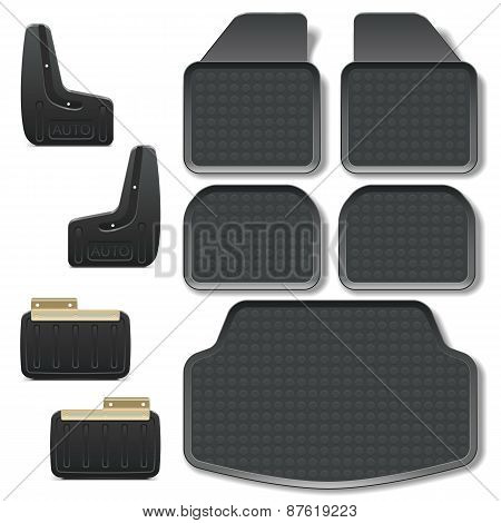 Vector Car Mats Set 2
