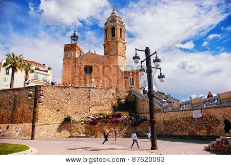 Cathedral Of Sitges
