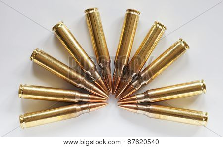 Cartridges With Steel Core Bullets