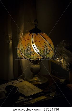 Interior Room Night Scene