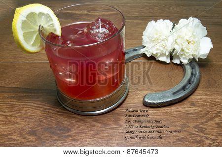 Belmont Jewel Cocktail With Recipe
