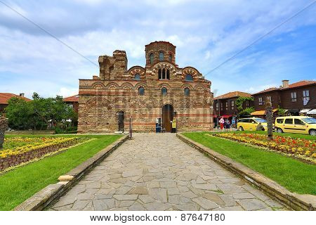 Nessebar, Bulgaria - Juine 11:the Christ Pantocrator Curch Is Dated Back 13Th - 14Th Century, On Jul