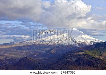 The Drama Of Mt. St. Helen's Washington State.