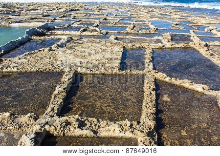 Island Of Gozo, Salt Marshes