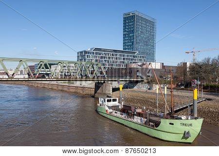 Old Ship In Bremen, Germany