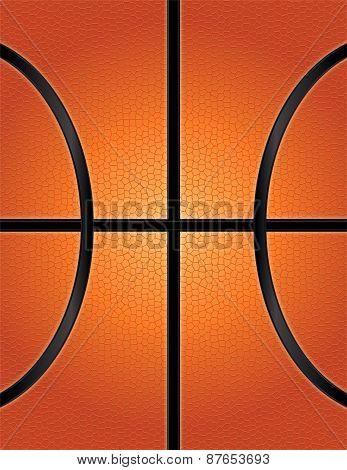Basketball Texture Background Illustration