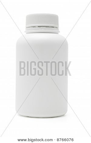 White Plastic Container