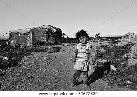 Portrait Of Refugees