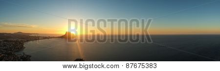 Costa Blanca Panorama Landscape