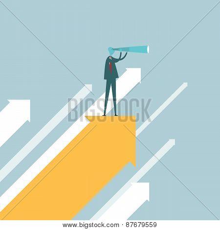 Spotter On An Arrow