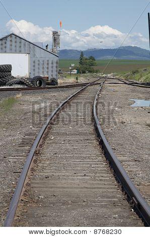 Rural Railroad Junction