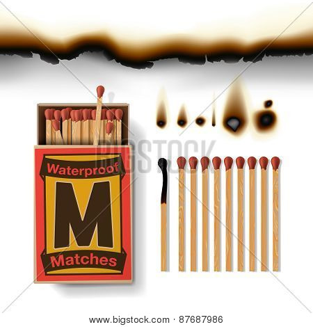 Matchbox and matches