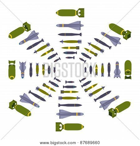 Isometric air bombs