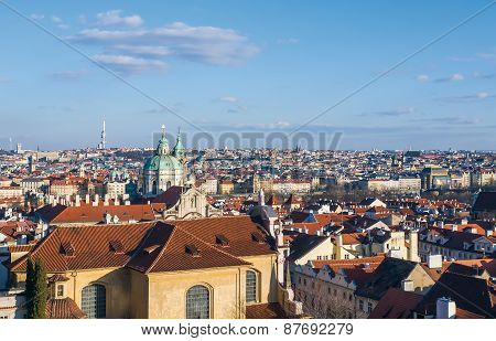 The View Over Prague