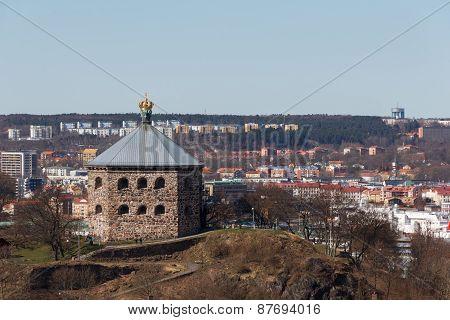 The redoubt Skansen Kronan in Gothenburg, Sweden