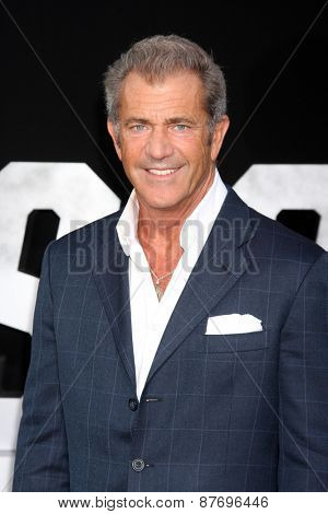 LOS ANGELES - AUG 11:  Mel Gibson at the