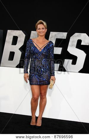 LOS ANGELES - AUG 11:  Zoe Bell at the