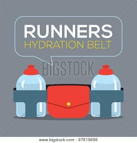 Runners Hydration Belt.