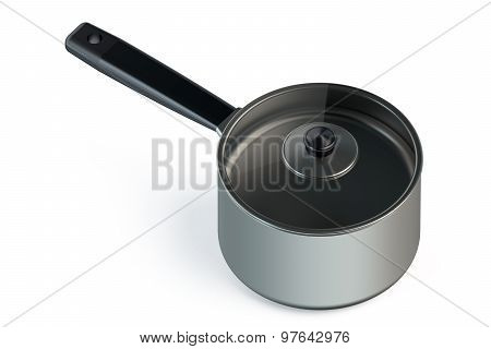 Stainless Steel Pot With Handle