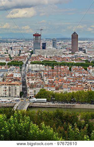 La Part Dieu Building, Lyon, France