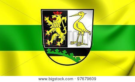 Flag Of Greiz Kreis, Germany.