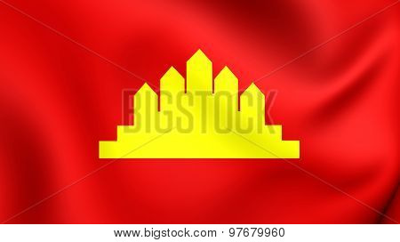 People's Republic Of Kampuchea Flag (1979-1989).