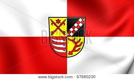 Flag Of Oder-spree Kreis, Germany.