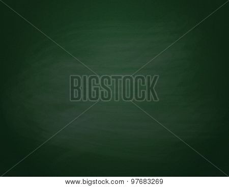 Green chalkboard background.