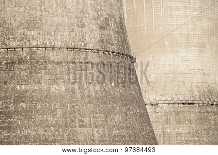 Industrial Towers Composition