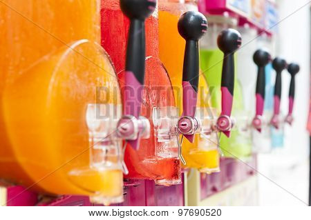 Making Icy Granita Juice Device In Many Colors