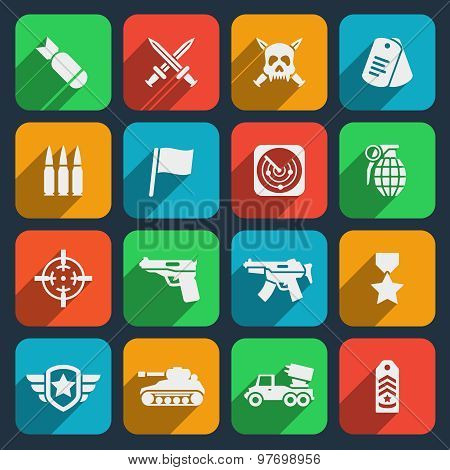 Weapons and ammunition icons