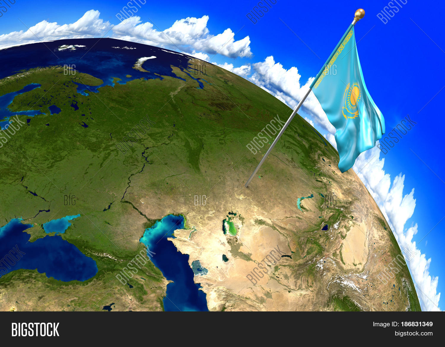 Picture of: Kazakhstan National Image Photo Free Trial Bigstock