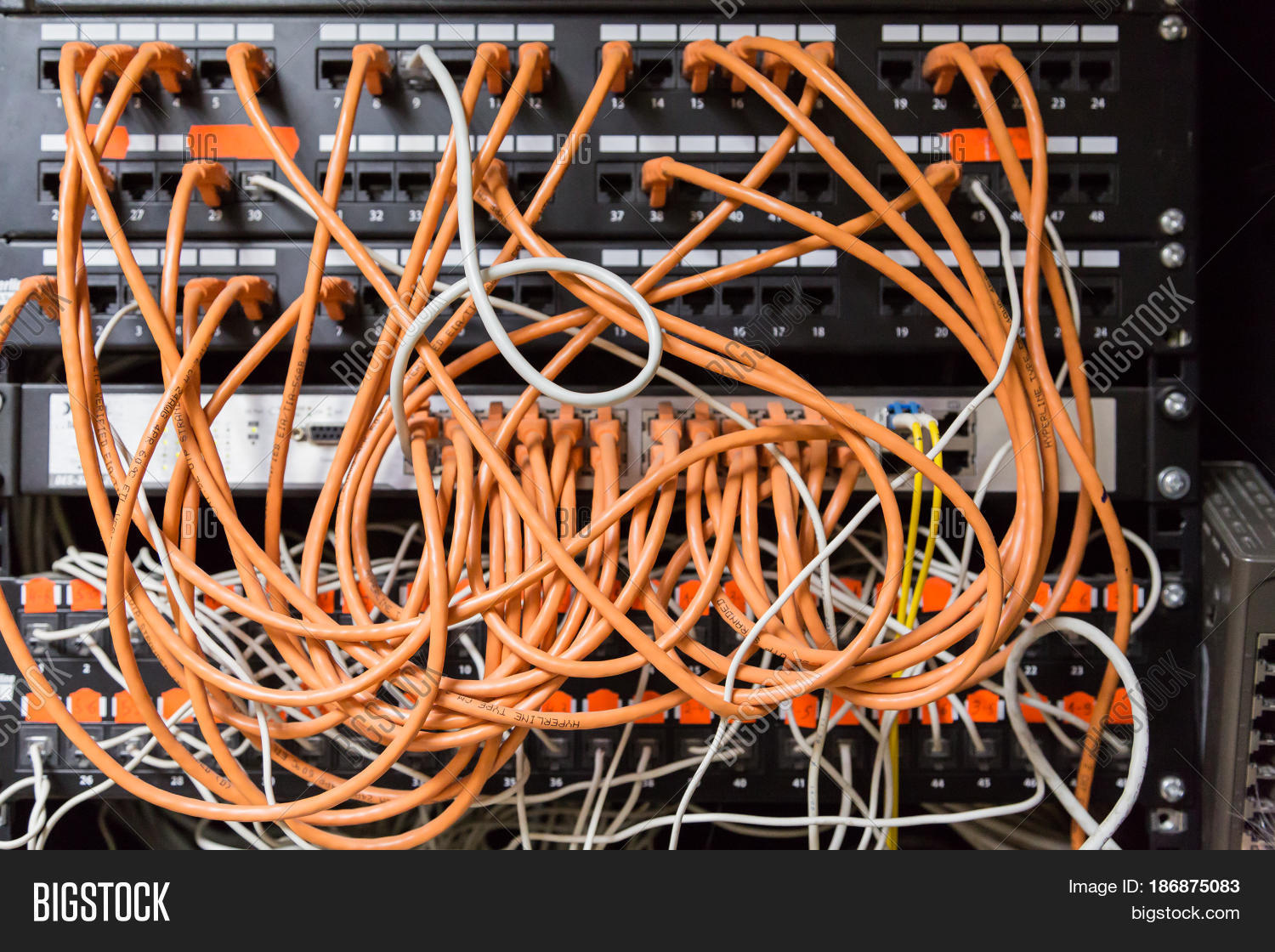 Stupendous Box Wires Cables Image Photo Free Trial Bigstock Wiring 101 Capemaxxcnl
