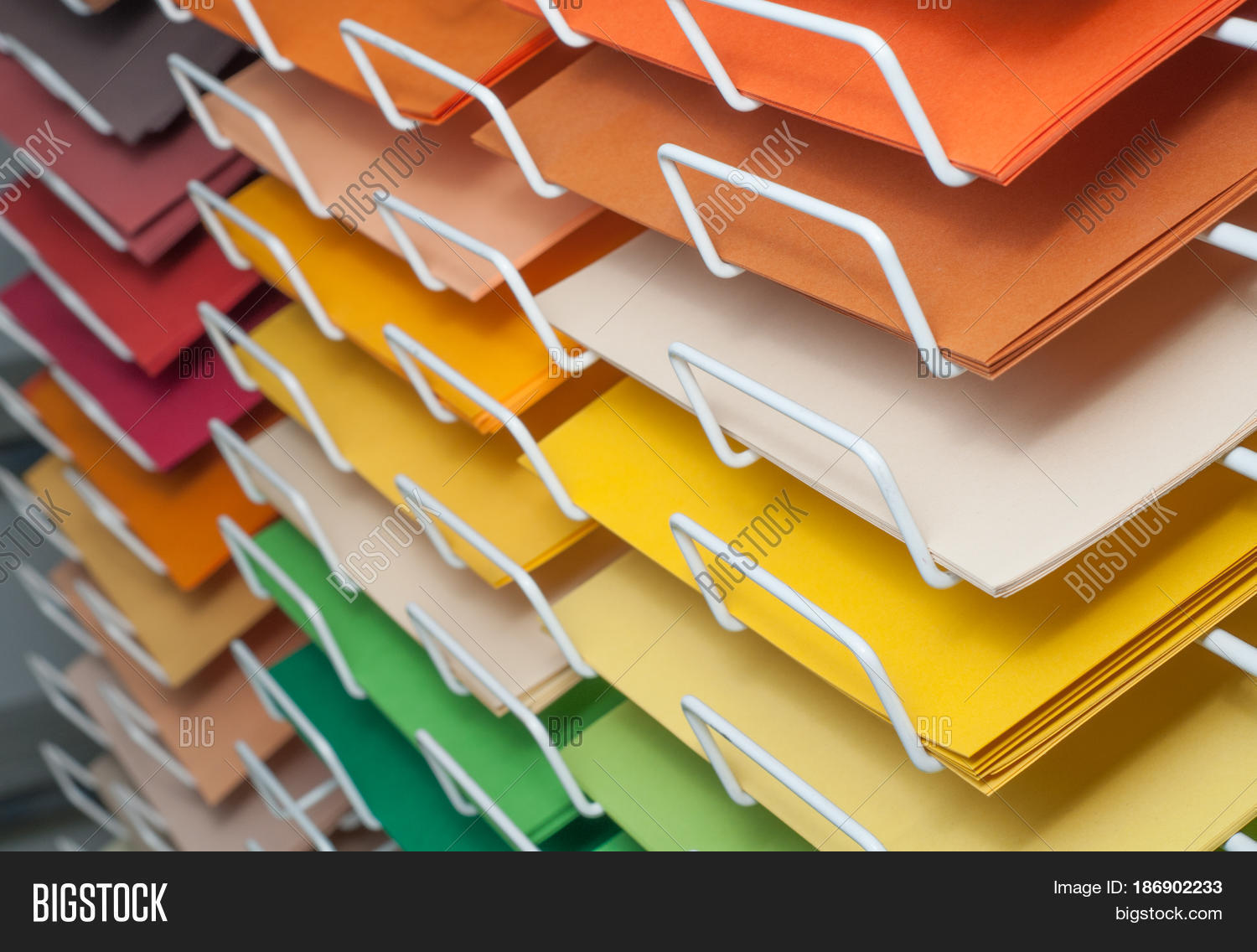 Sheets Colored Image & Photo (Free Trial) | Bigstock