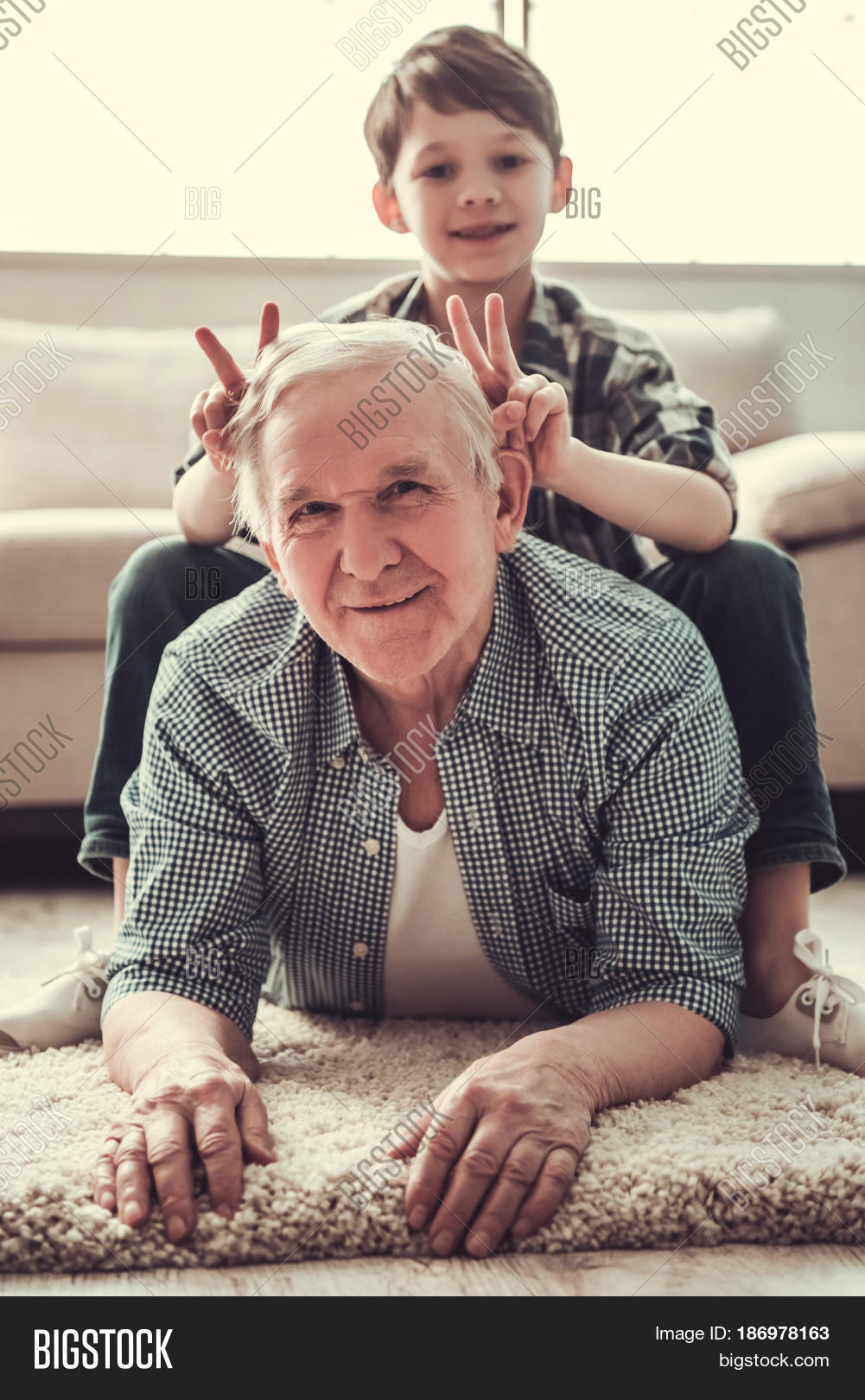 Grandpa Grandson
