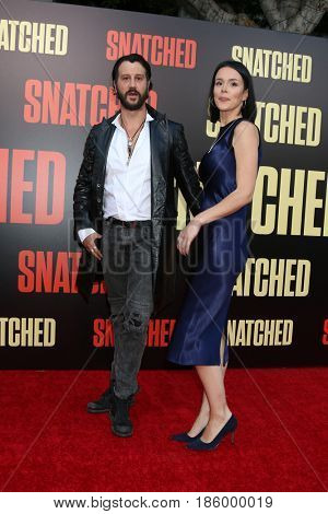 LOS ANGELES - MAY 10:  Stefan Kapicic, Ivana Horvat at the