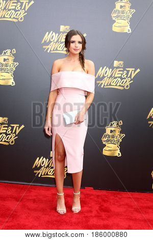 LOS ANGELES - MAY 7:  Jess Bauer at the MTV Movie and Television Awards on the Shrine Auditorium on May 7, 2017 in Los Angeles, CA