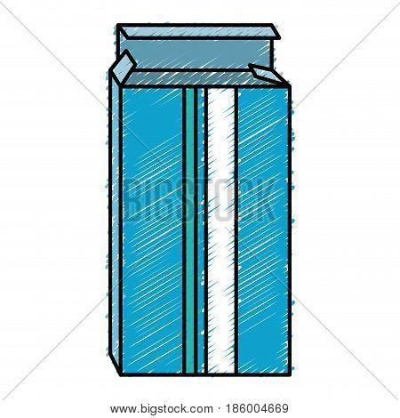 Medical pills box isolated icon vector illustration design