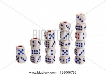 Five Step Stack Dice