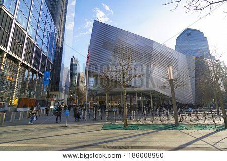 National September 11 Memorial and Museum at Ground Zero Manhattan- MANHATTAN - NEW YORK