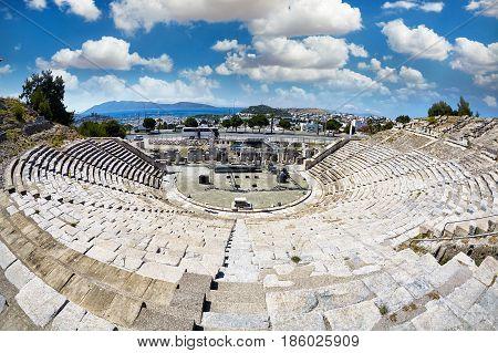 Ancient Amphitheatre In Bodrum