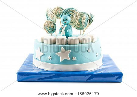 Birthday Cake Mastic For A Child