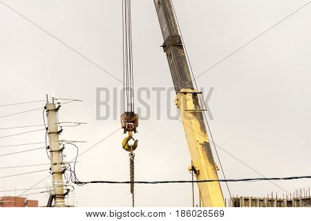 Construction Crane Hook Macro