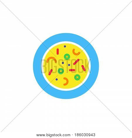 Microbes. Agar plate with bacterial colonies icon vector solid logo illustration colorful pictogram isolated on white