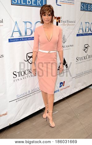 LOS ANGELES - MAY 10:  Lisa Rinna at the ABC Mothers Day Luncheon on the Four Seasons Hotel on May 10, 2017 in Beverly Hills, CA