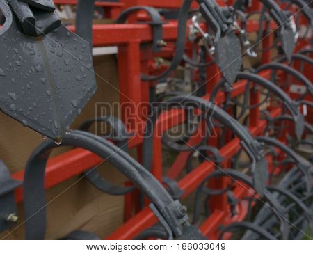 Agricultural Machinery. The Elements And Components Agricultural Techniques